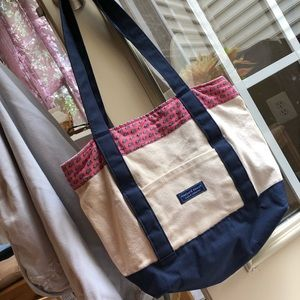 Vineyard Vines tote handbag M horse custom bag